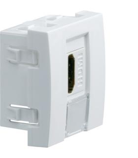 systo Gniazdo HDMI typu A 2M biały Hager WS263