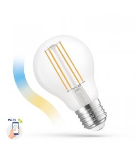 Żarówka LED GLS 5W COG 230V CCT+DIMM CLEAR Wi-Fi Spectrum SMART