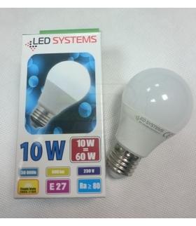 Żarówka LED SMD E27 10W 800lm CIEPŁA