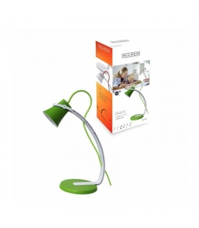 SKARA lampka biurkowa LED 3,2W Skara biało- zielona