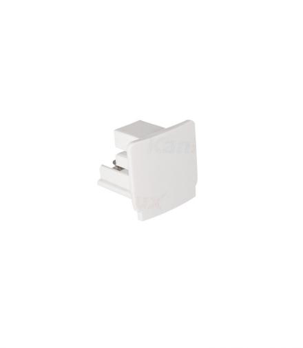 Akcesorium systemu szynoprzewodowego TEAR N biały Kanlux 33236