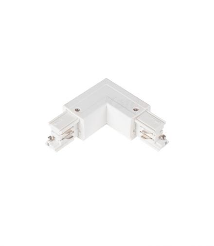 Akcesorium systemu szynoprzewodowego TEAR N biały Kanlux 33244