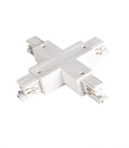 Akcesorium systemu szynoprzewodowego TEAR N biały Kanlux 33246