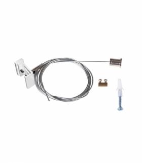 Akcesorium systemu szynoprzewodowego TEAR N biały Kanlux 33256