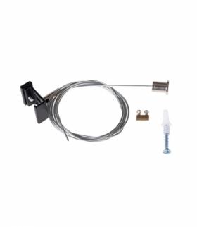 Akcesorium systemu szynoprzewodowego TEAR N czarny Kanlux 33257