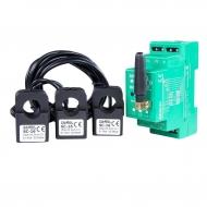 MONITOR ENERGII ELEKTRYCZNEJ WI-FI 3F+N SUPLA MEW-01