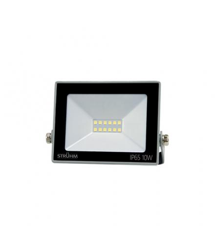 Naświetlacz SMD LED KROMA LED 10W GREY 6500K IDEUS 03771