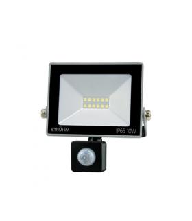 Naświetlacz SMD LED z czujnikiem ruchu KROMA LED S 10W GREY 6500K IDEUS 03773