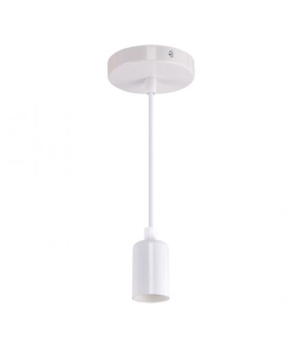 Wisząca oprawa oświetleniowa UNO E27 CLG WHITE IDEUS 03810