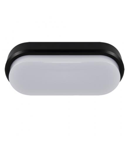 Plafoniera hermetyczna LED ARON LED L 18W BLACK 4000K IDEUS 03799