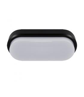 Plafoniera hermetyczna LED ARON LED L 12W BLACK 4000K IDEUS 03798