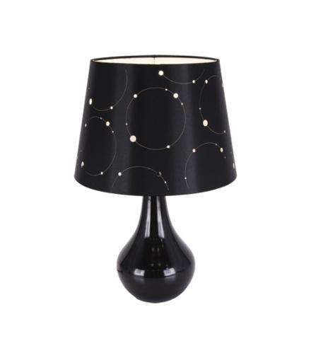 Lampka stołowa LARYSA E14 BLACK IDEUS 03806