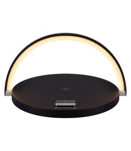 Lampka biurkowa SMD LED SATURN LED BLACK IDEUS 03863