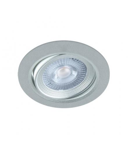 Sufitowa oprawa punktowa SMD LED MONI LED C 5W 4000K SILVER IDEUS 03857