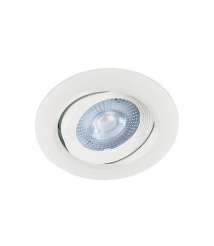 Sufitowa oprawa punktowa SMD LED MONI LED C 5W 4000K WHITE IDEUS 03858