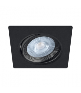 Sufitowa oprawa punktowa SMD LED MONI LED D 5W 4000K BLACK IDEUS 03862