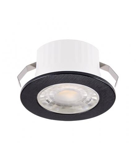 Oprawa dekoracyjna FIN LED C 3W CZARNA 4000K IDEUS 03873