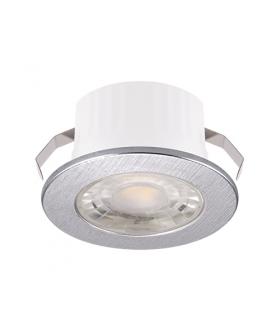 Oprawa dekoracyjna FIN LED C 3W SREBRNA 4000K IDEUS 03871