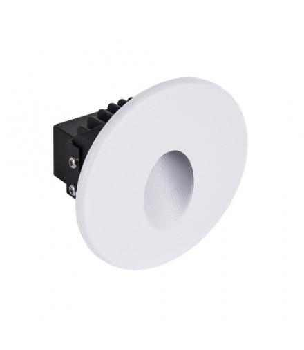 Oprawa dekoracyjna COB LED AZYL LED C 1,6W WHITE 4000K IDEUS 03905
