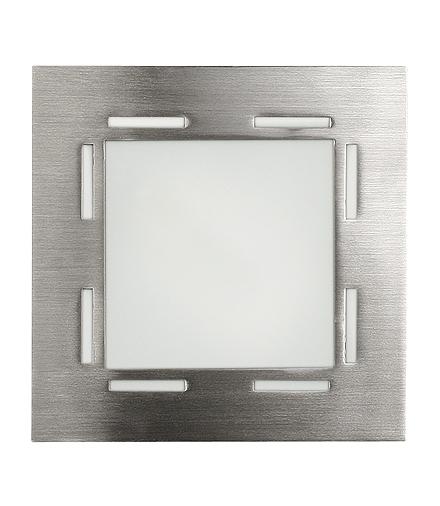 LAMPA TECHNO PLAFON (14X14) G9 1X40W NIKIEL MAT Candellux 10-73849