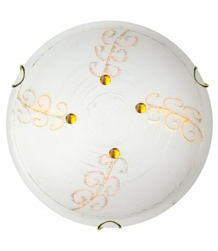 LAMPA ASME PLAFON 30 1X60W E27 ZŁOTY Candellux 13-34529