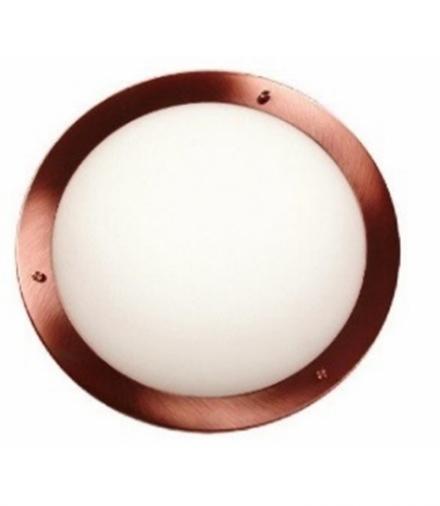 LAMPA AQUILA PLAFON 31 1X60W E27 MIEDZIANA IP44 Candellux 13-45416