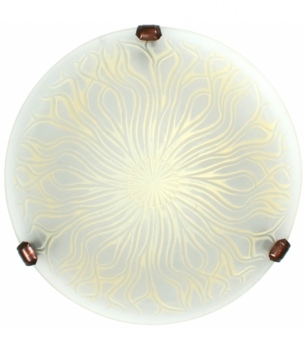 LAMPA TERRA PLAFON 30 1X6W BEŻ Candellux 13-91935