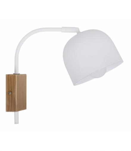 RUPI LAMPA KINKIET 1X40W E27 BIAŁY Candellux 21-75482