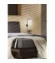 LAMPA ALPINE KINKIET 1X40W E14 CZARNY Candellux 21-76694