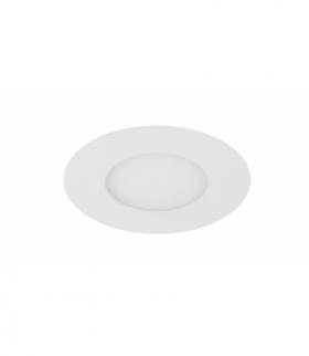 SP-01 WH 3W LED 230Voczko sufitowe lampa sufitowa PANEL LED STAŁA OKRĄGŁA ŚR. 120 Candellux 2245584