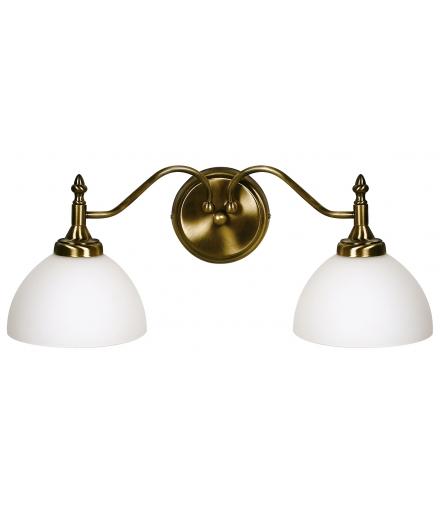 LAMPA MAESTRO - KINKIET/2 PATYNA E27 60W Candellux 22-74853