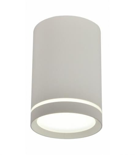 LAMPA SUFITOWA TUBA 1X15W GU10 6,8/10 BIAŁY MAT Candellux 2277134