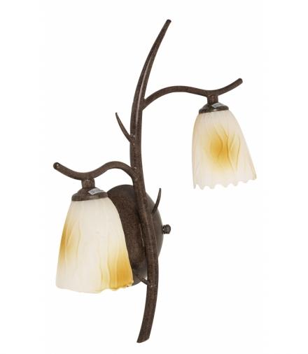 LAMPA L&H MIKADO KINKIET 2x40W G9 PATYNA Candellux 22-84807