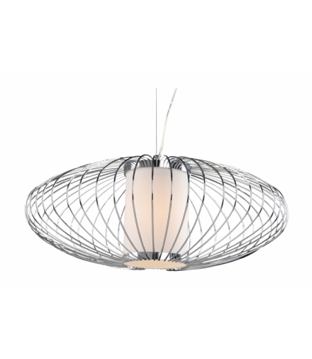 LAMPA HIMERA ZWIS 1X60W E27 CHROM 40CM Candellux 31-27194