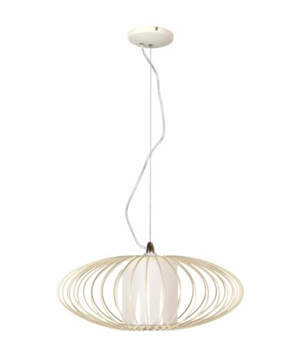 HIMERA LAMPA WISZĄCA 1X60W E27 BIAŁA 40CM Candellux 31-27361