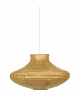 LAMPA WISZĄCA GRIFF PAPIEROWY ŚR.40 CAPPUCINO E-27 60W(BEZ LINKI) Candellux 3494400-14