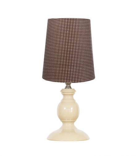 LAMPKA SPINEL 1X40W E14 BRĄZOWY Candellux 41-64110