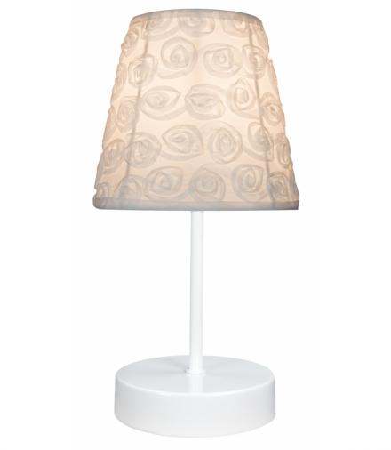 LAMPKA LORI 1X40W E14 BIAŁA Candellux 41-72771