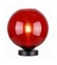 LAMPKA GLOBE GABINETOWA 1X60W E27 CZERWONY Candellux 41-78278