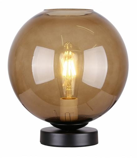 LAMPKA GLOBE GABINETOWA 1X60W E27 BRĄZOWY Candellux 41-78285