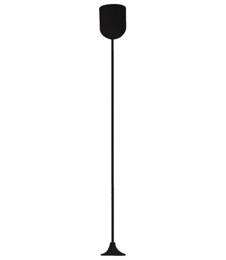 LINKA CZARNA Z OSŁONKĄ 1X60W E27 Candellux 85-10629