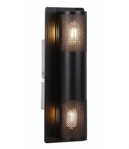 LAMPA EMU KINKIET 2X10W G9 CZARNY Candellux 91-81360