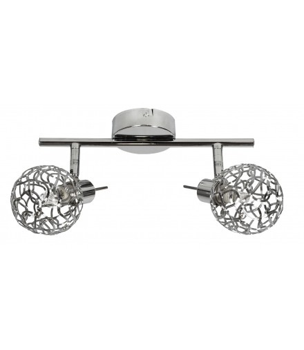 LAMPA PUZZLE LISTWA 2X40W G9 CHROM Candellux 92-93984