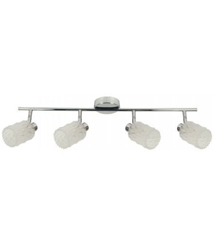 LAMPA TRANS LISTWA 4X40W G9 CHROM Candellux 94-03782
