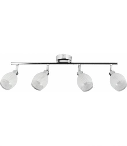 LAMPA GERNET LISTWA 4X40W G9 CHROM Candellux 94-08817