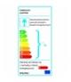 LAMPA THUNDER - LISTWA 4x50W GU10 230V ANTRACYT/CHROM Candellux 94-09909