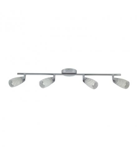 LAMPA LAUFER LISTWA 4X40W G9 CHROM Candellux 94-28412