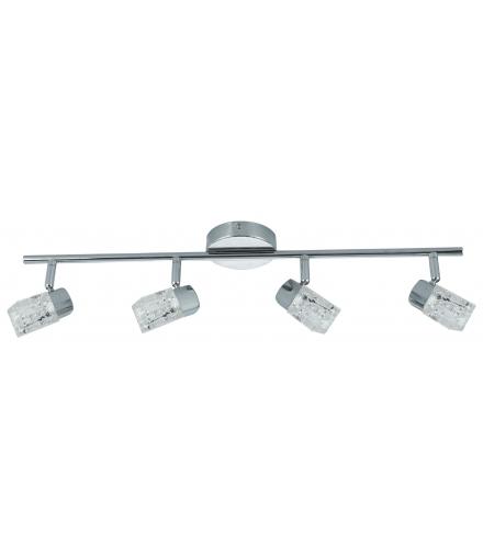 LAMPA SZAFIR LISTWA 4X40W G9 CHROM Candellux 94-28556