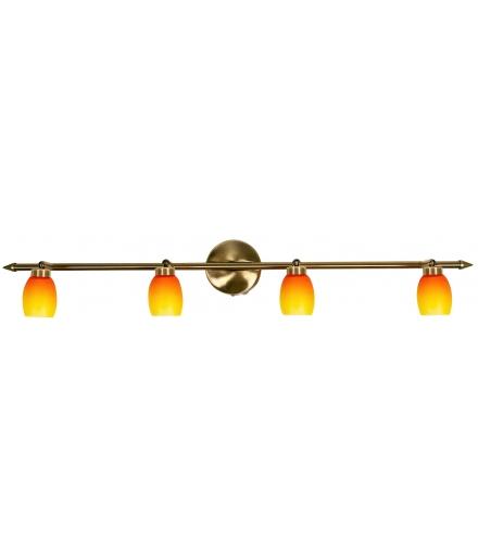 LAMPA OLIVIA LISTWA 4X40W G9 PATYNA RAINBOW Candellux 94-81080