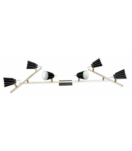 LAMPA SENSO LISTWA 6X40W G9 Candellux 96-31283